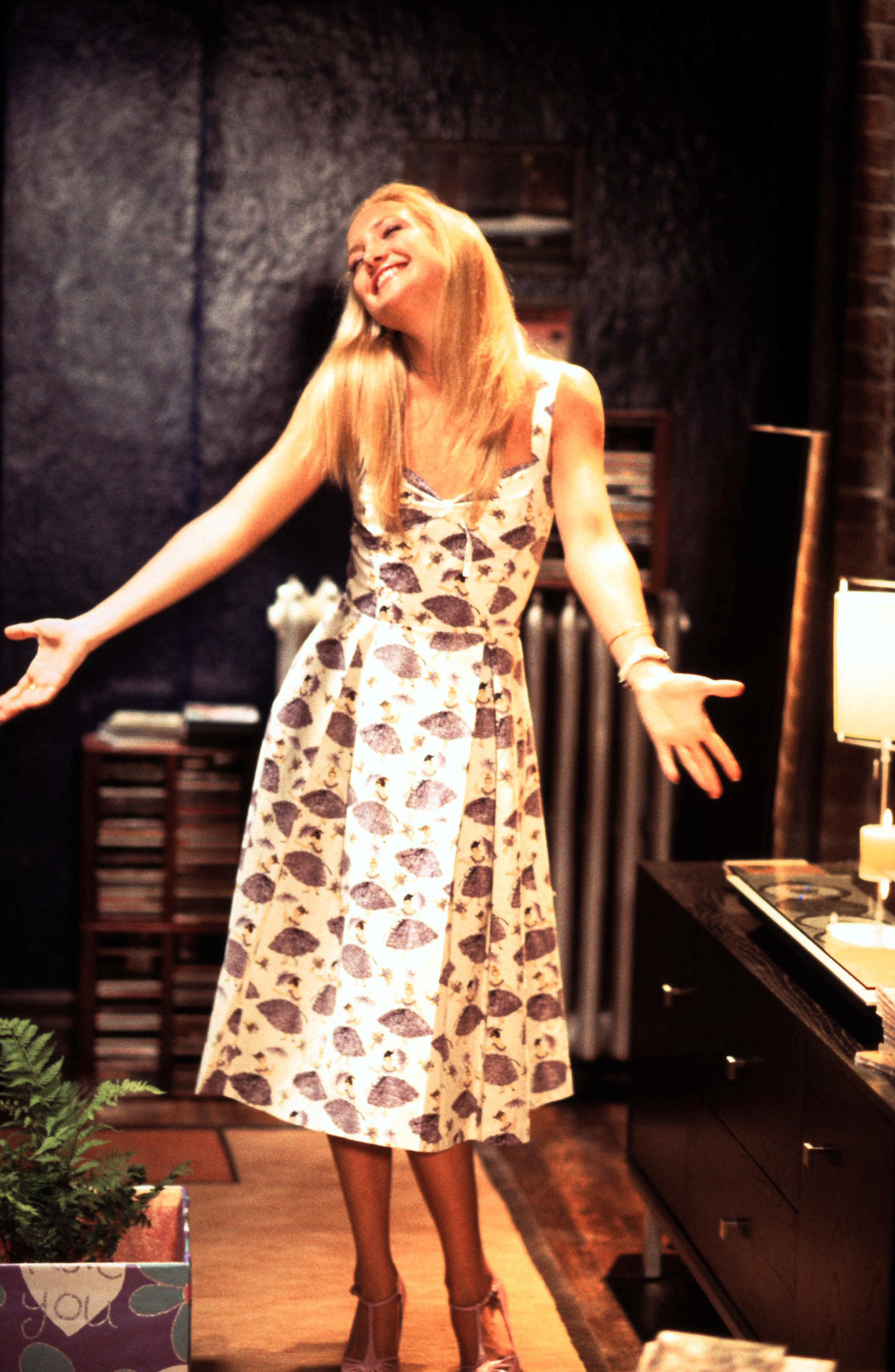 Andie's fabulous designer dress