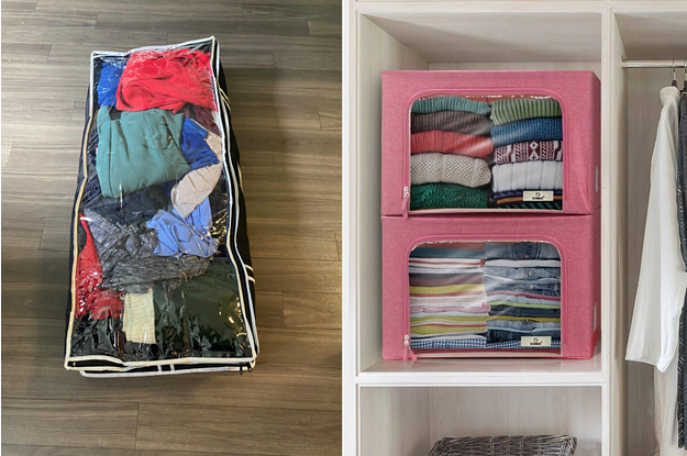 20 Organizing Items For Anyone Whose Only Storage Area Is Under Their Bed