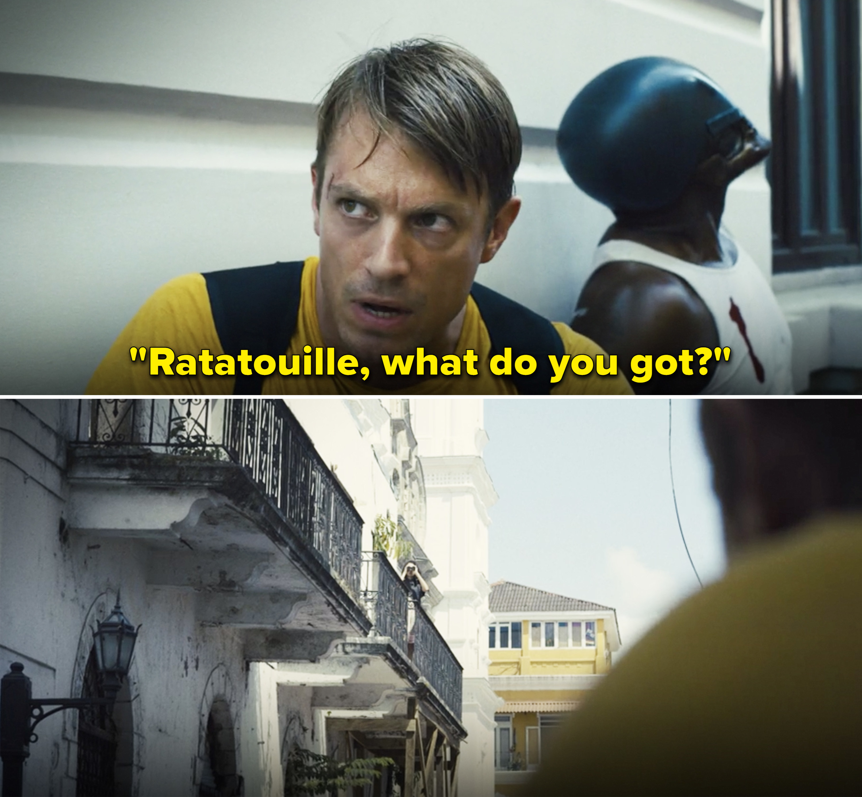 "Rick saying,""Ratatouille, what do you got?"""
