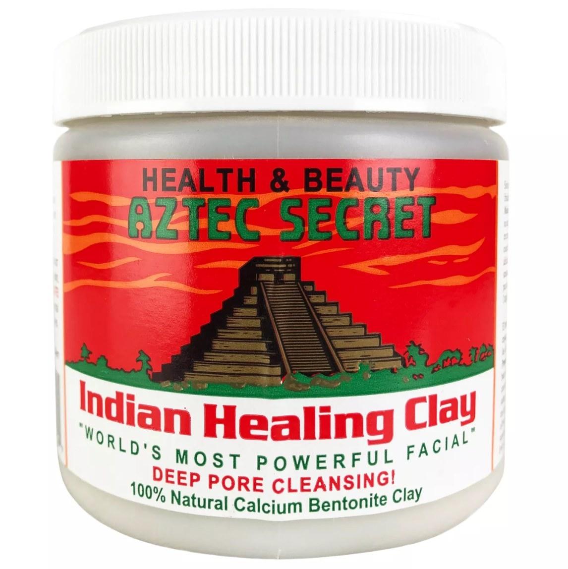 photo ofAztec Secret Indian Healing Clay Mask against white background