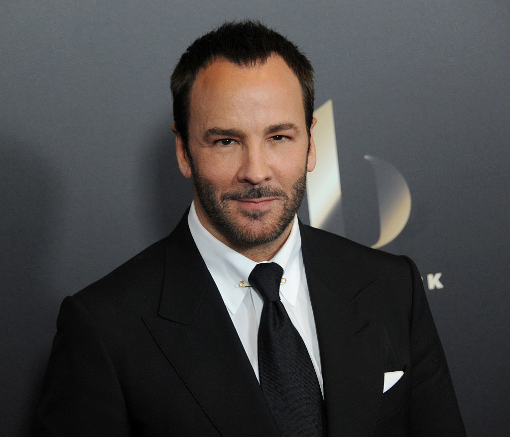 Tom Ford on the red carpet for an event