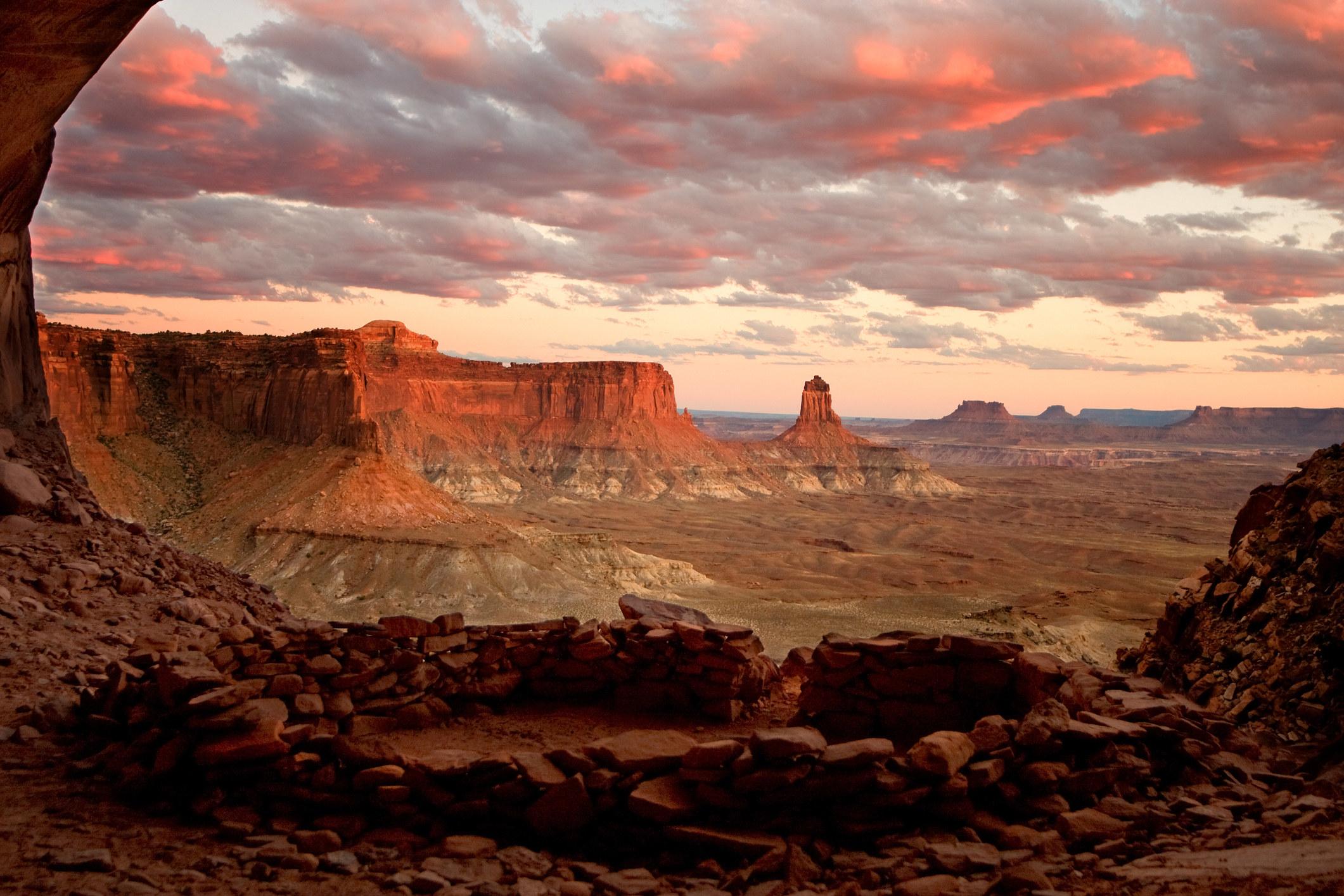 ColorfulCanyonlands National Park in Utah.