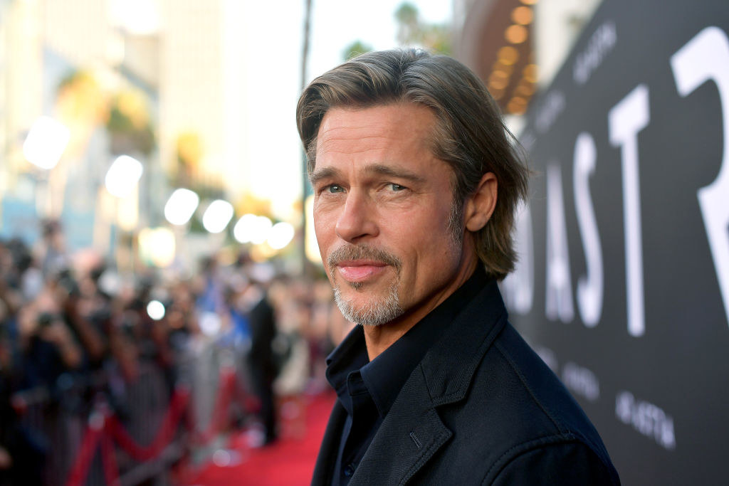 Brad Pitt on the carpet for Ad Astra