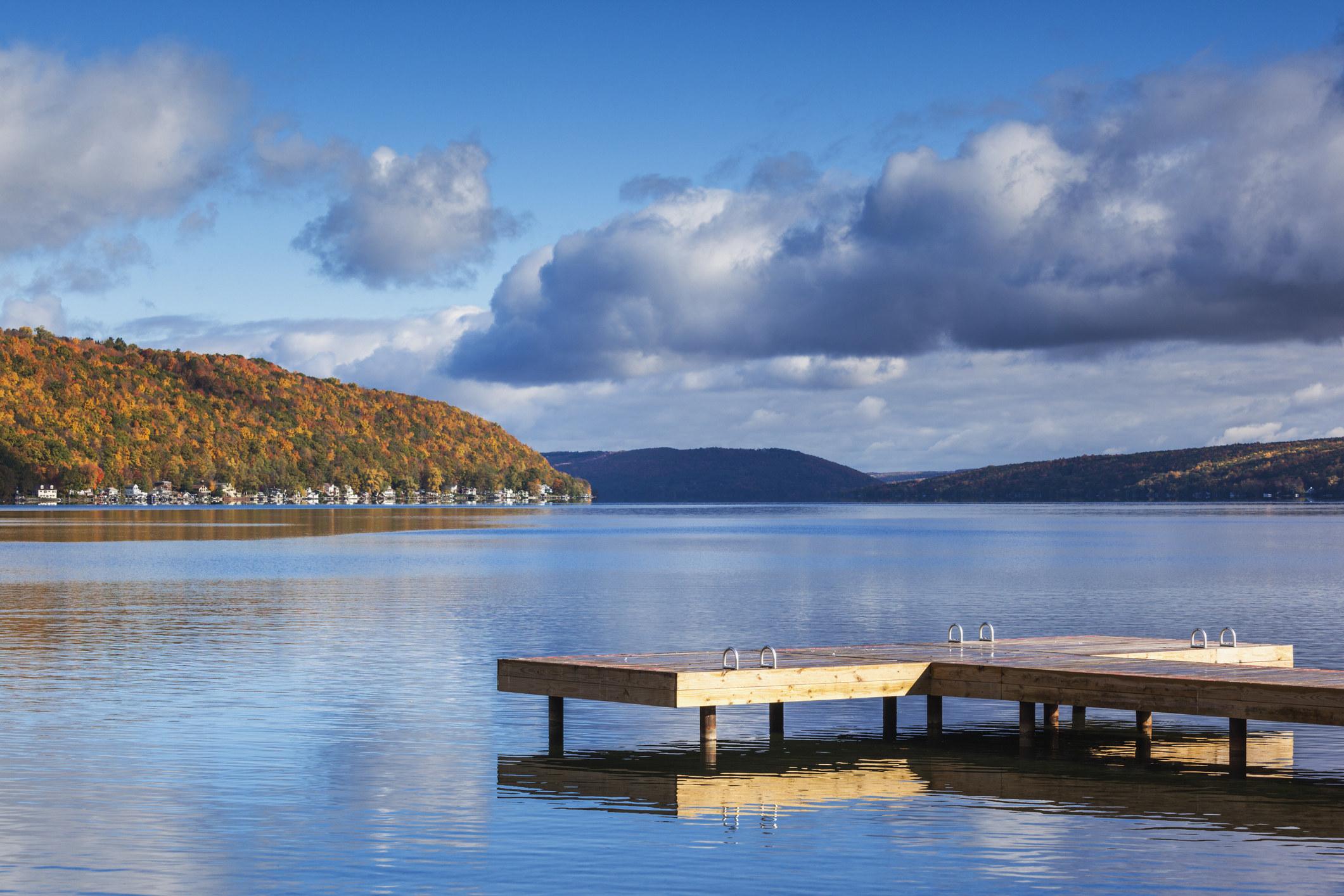 The Finger Lakes, NY.