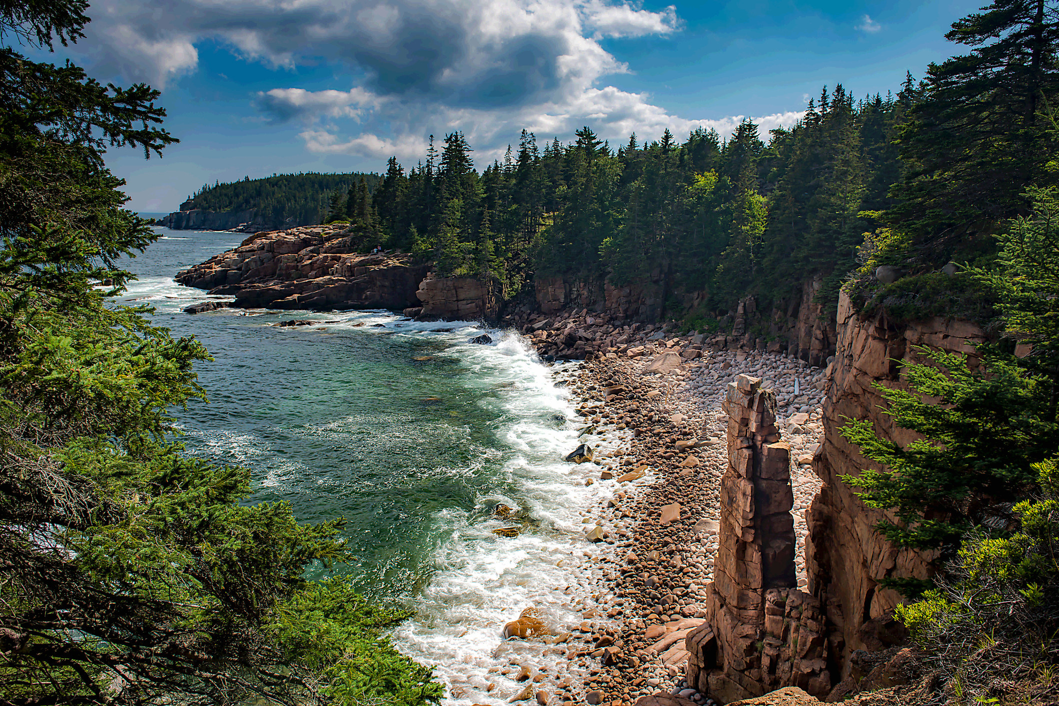 A view of Acadia National Park