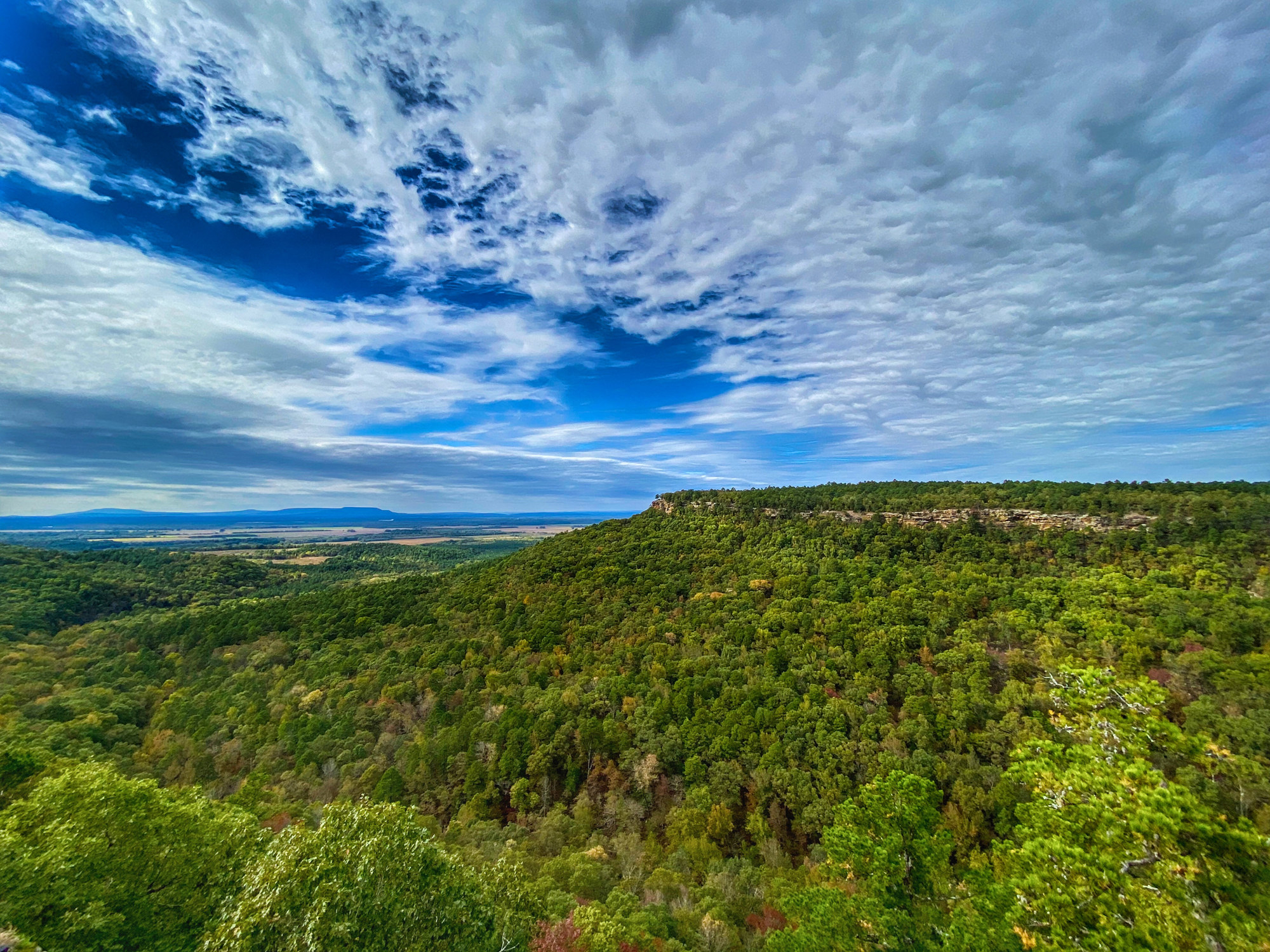 A view from Petit Jean National Park.