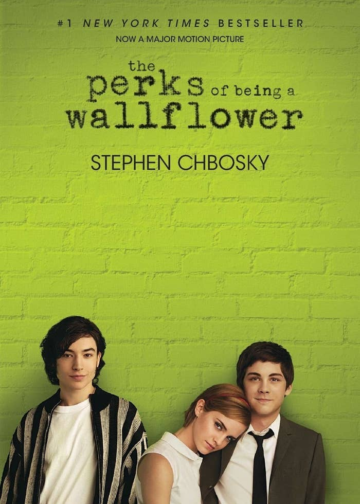 Movie cover edition of The Perks of Being a Wallflower