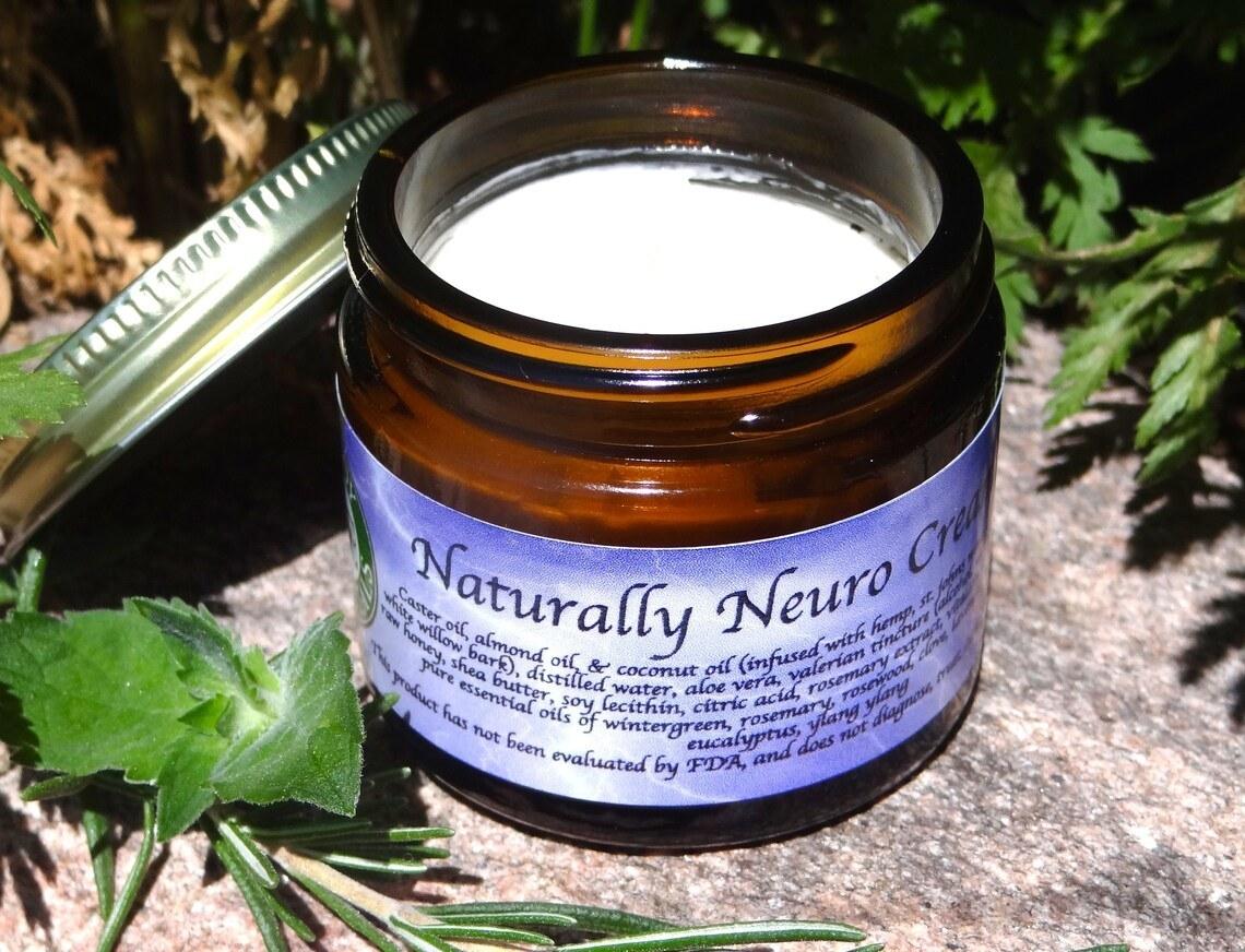 The jar of theorganic neuropathy cream