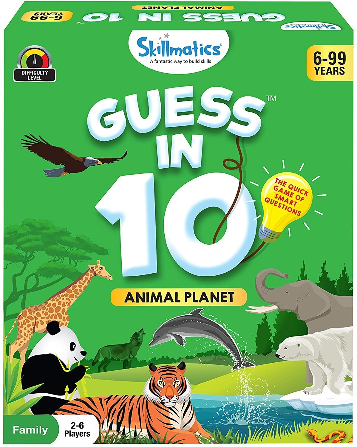 The animal planet card game