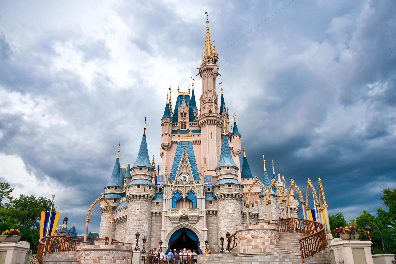 Cinderella Castle at Disney World in Orlando, Florida