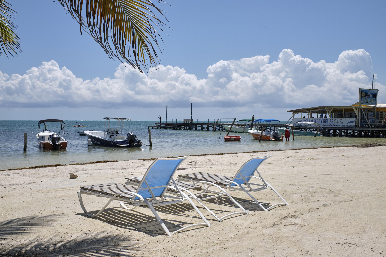 Oceanfront view in Belize