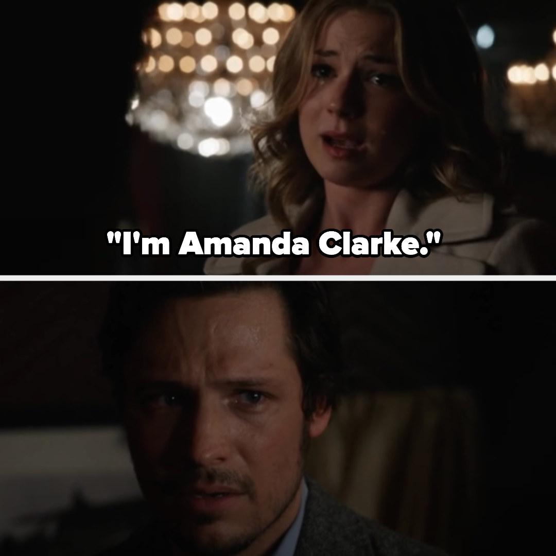 Amanda telling Jack she's Amanda Clarke
