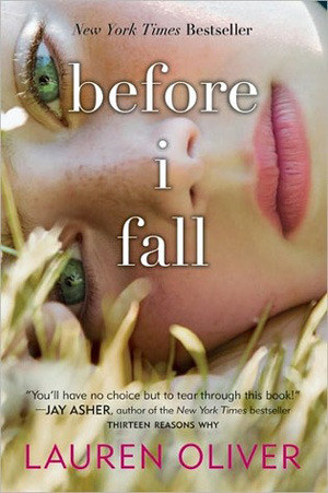 Cover shows a close up shot of a girl with title text in white over her face