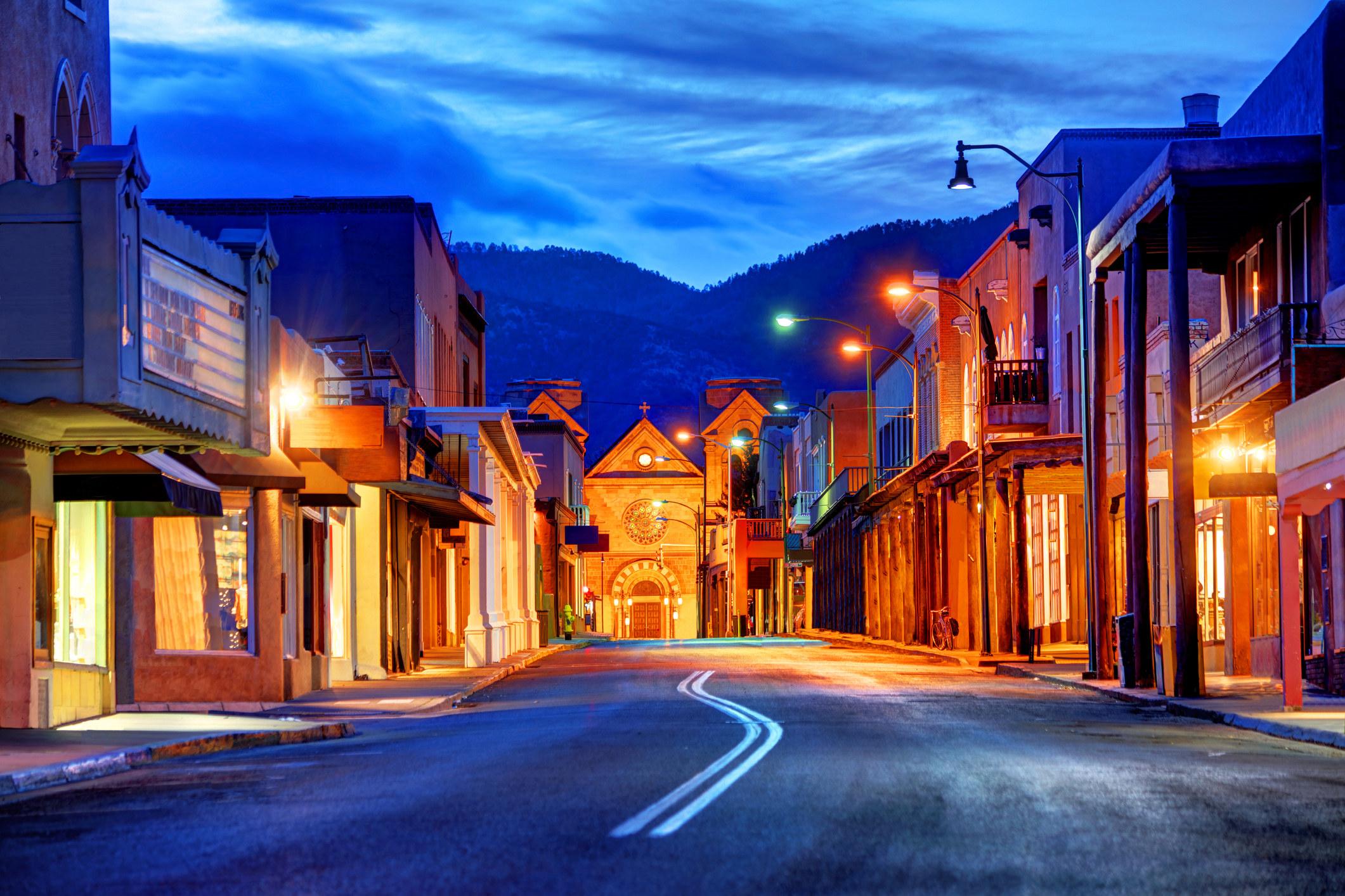 Quiet Santa Fe, NM.