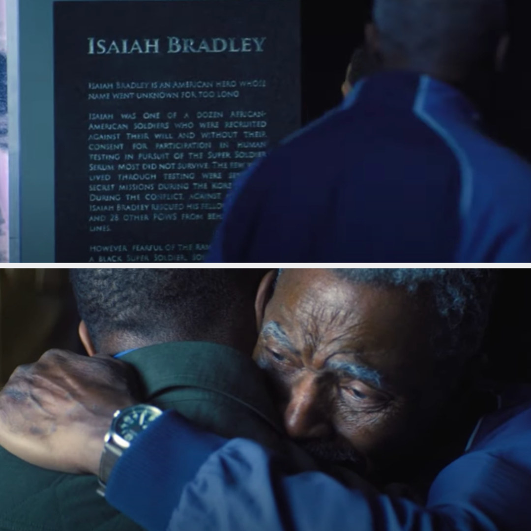 Isaiah sees the plague for him, then hugs Sam