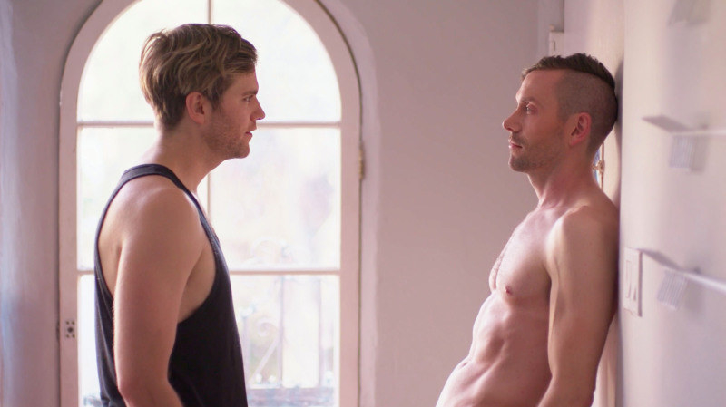 Van Hansis and Kit Williamson stare at each other