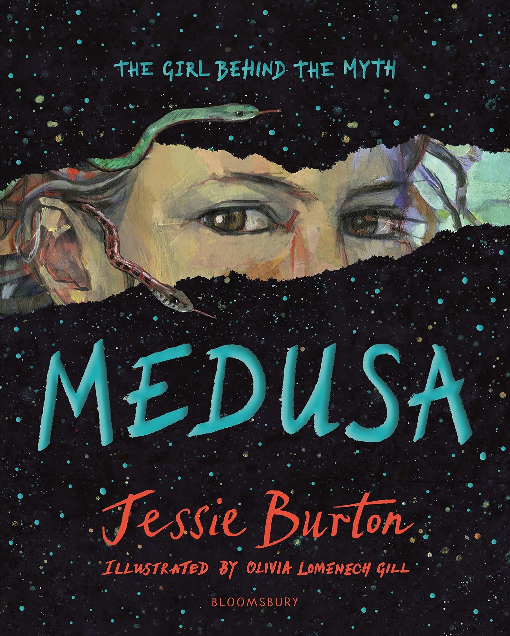 Medusa cover. Book by Jessie Burton.