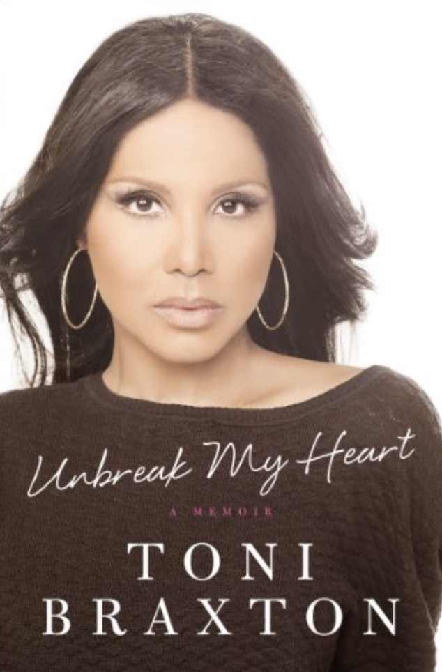 The cover of her book, Unbreak My Heart