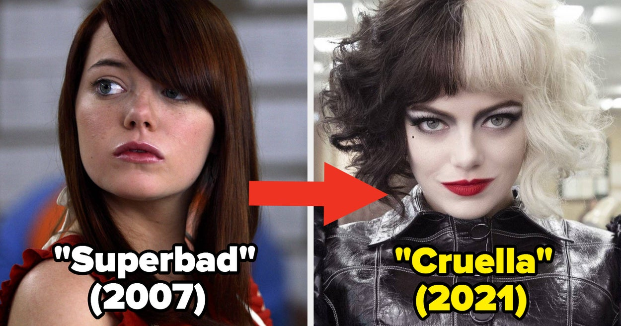 Here's What 30 Famous People Looked Like In The Beginning Of Their Movie Careers Vs. Now