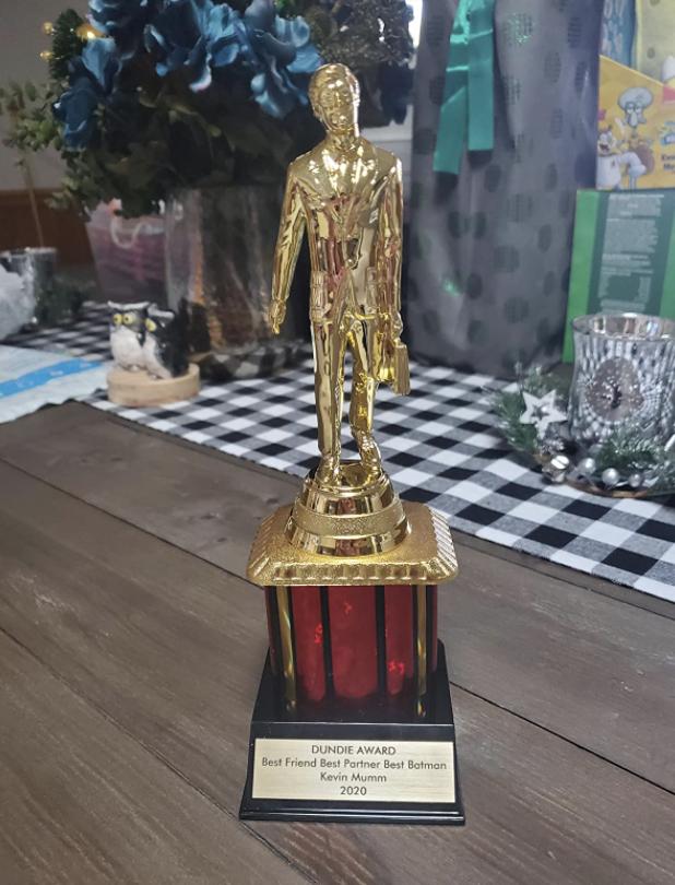 A reviewer's award