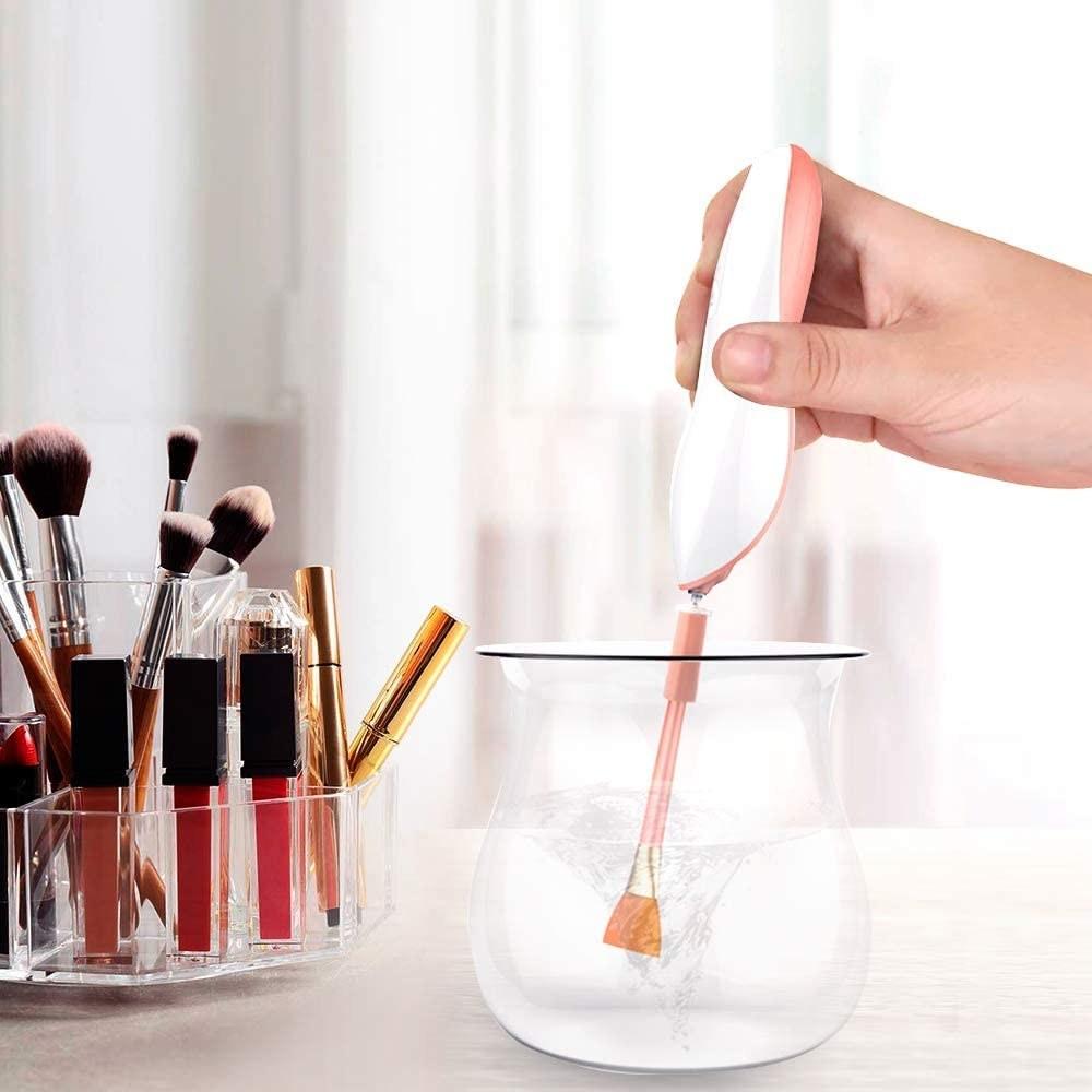 make-up brush cleaner