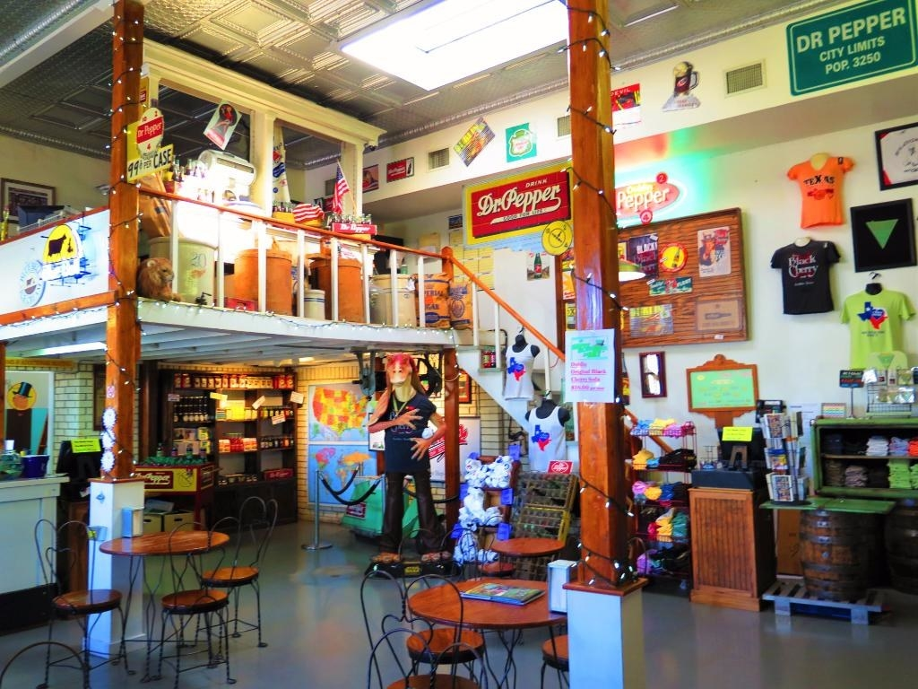 The colorful, whimsical Old Doc's Soda Shop in Dublin