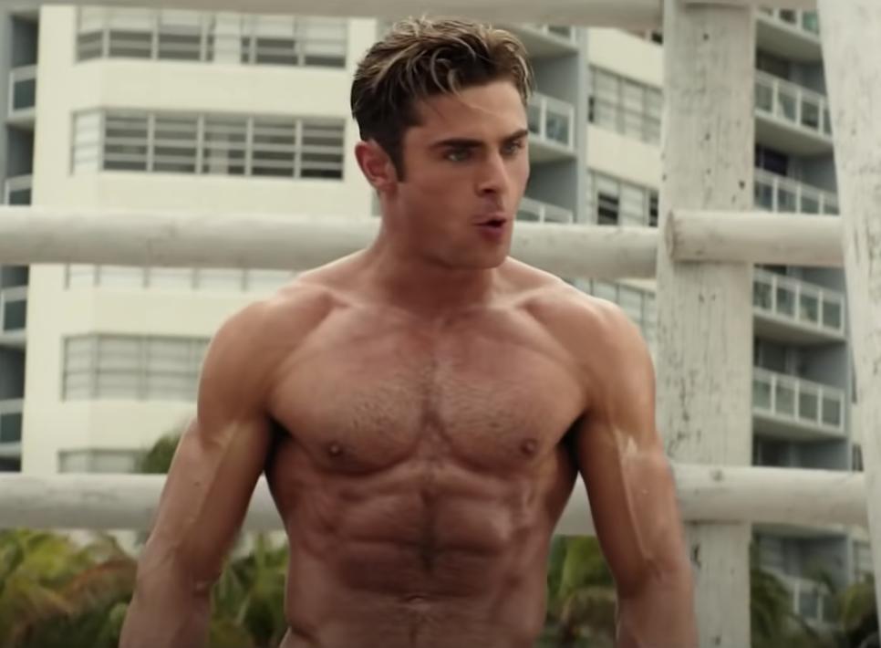 Matt shirtless in the film