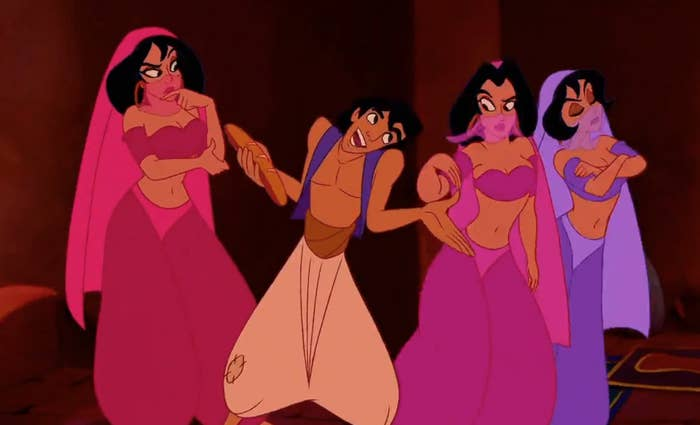 Aladdin in a brothel