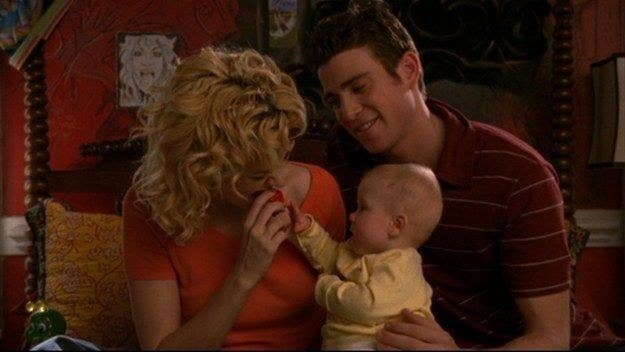 """Jake and Peyton on """"One Tree Hill"""""""