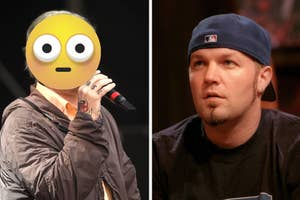 fred durst and his new look