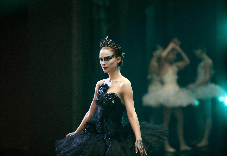 Natalie Portman doing ballet