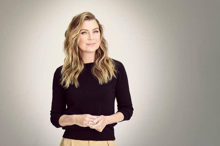"ABC's ""Grey's Anatomy"" stars Ellen Pompeo as Meredith Grey"