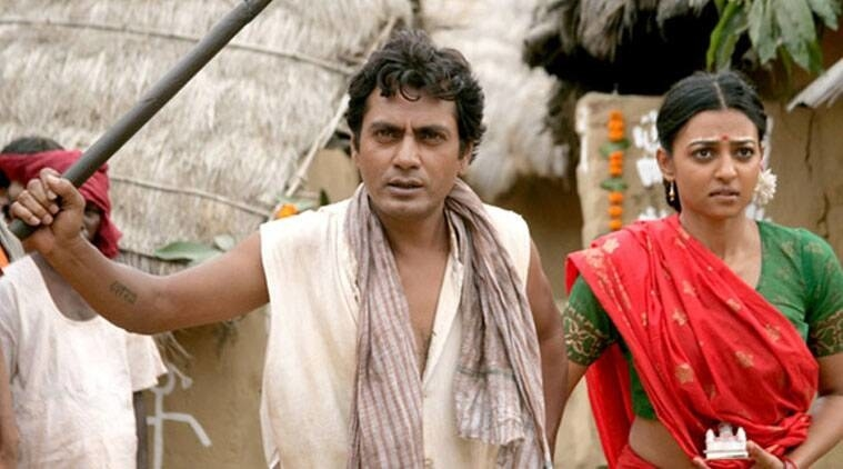 Nawazuddin Siddiqui and Radhika Apte in Manjhi