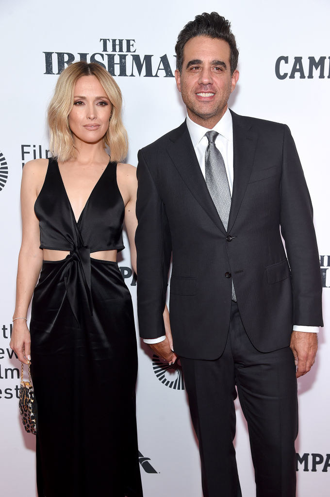 """Rose Byrne (L) and Bobby Cannavale attend """"The Irishman"""" screening"""