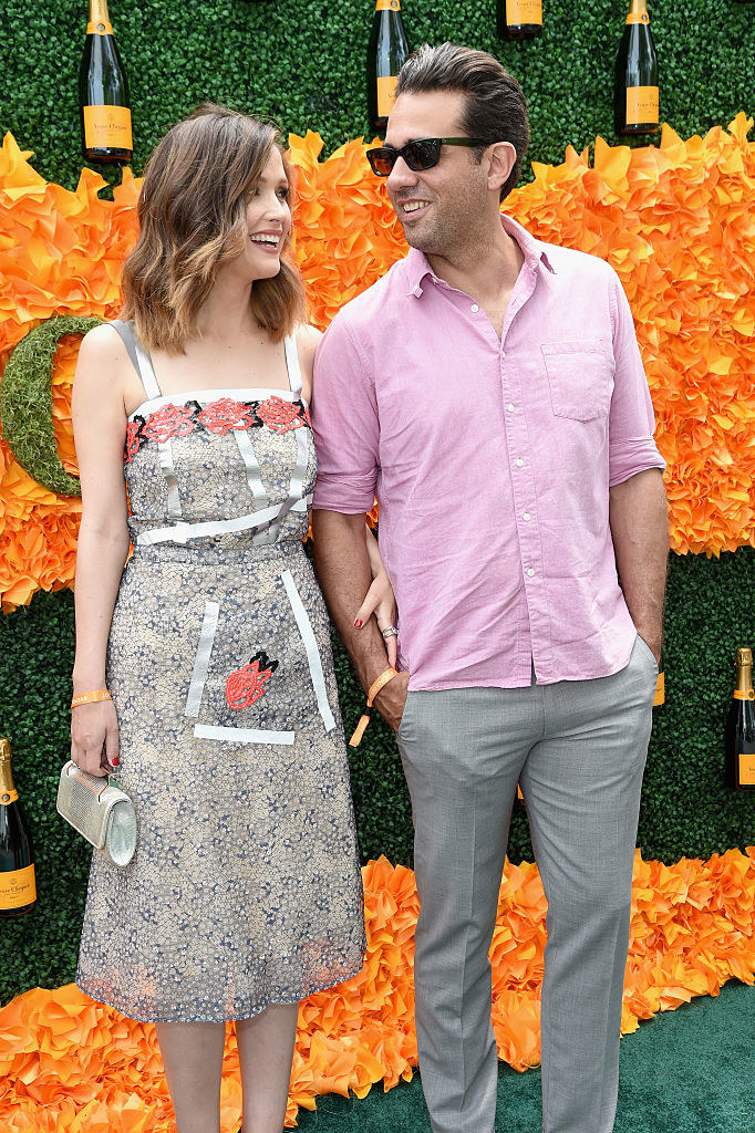 Rose Byrne (L) and Bobby Cannavale attend the Ninth Annual Veuve Clicquot Polo Classic