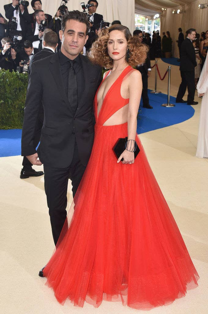 """Bobby Cannavale (L) and Rose Byrne attend the """"Rei Kawakubo/Comme des Garcons: Art Of The In-Between"""" Costume Institute Gala"""