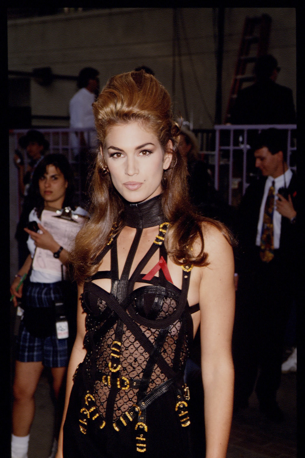 Cindy Crawford at the 1992 Video Music Awards