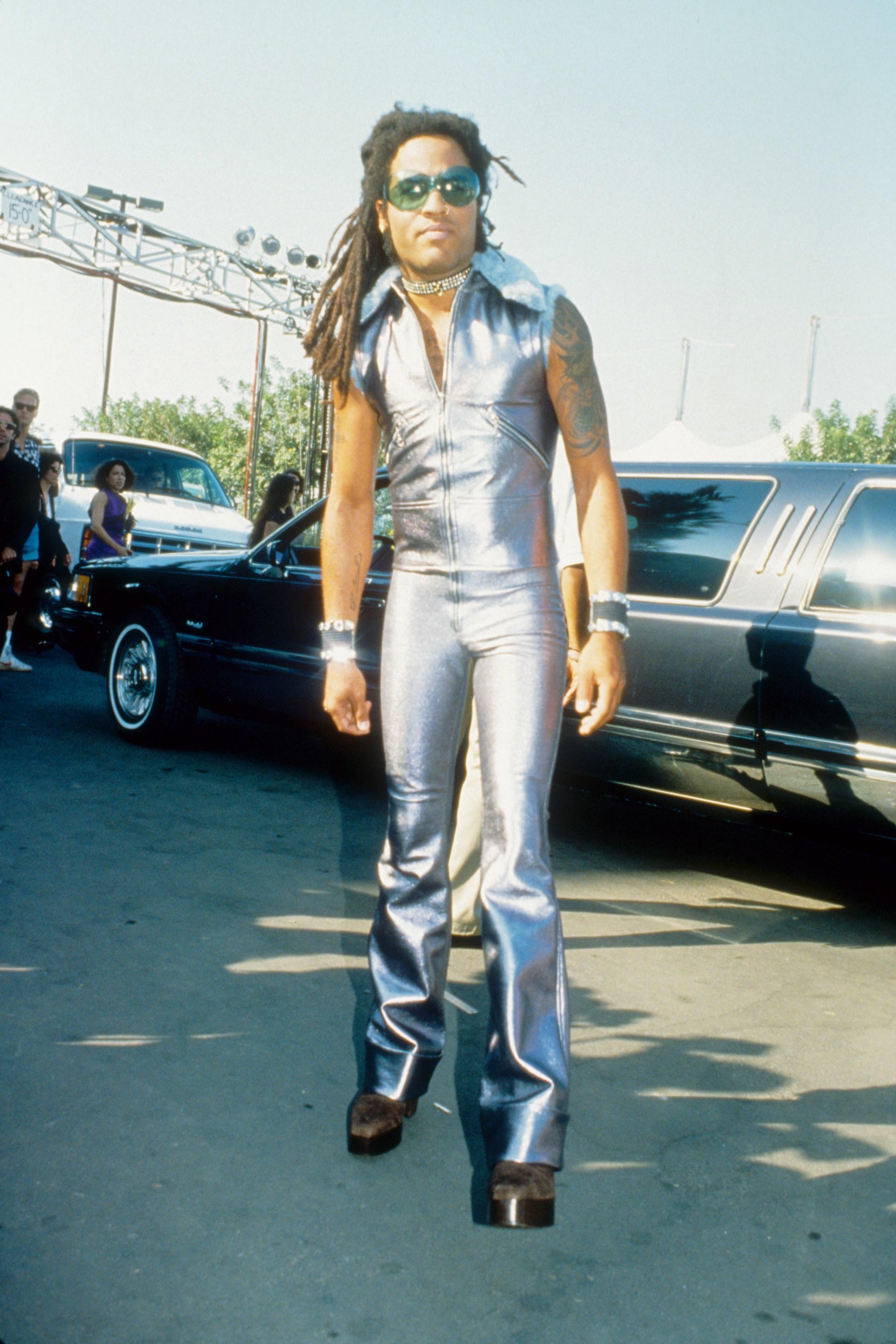 Lenny Kravitz at the 1993 Video Music Awards