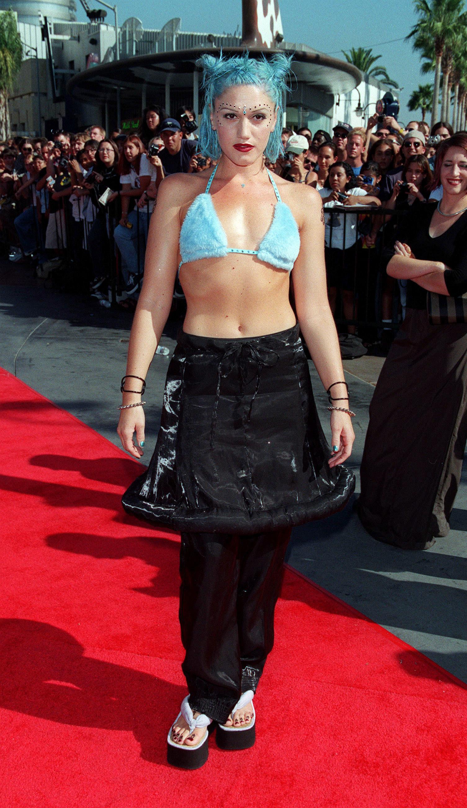 Gwen Stefani at the 1998 Video Music Awards