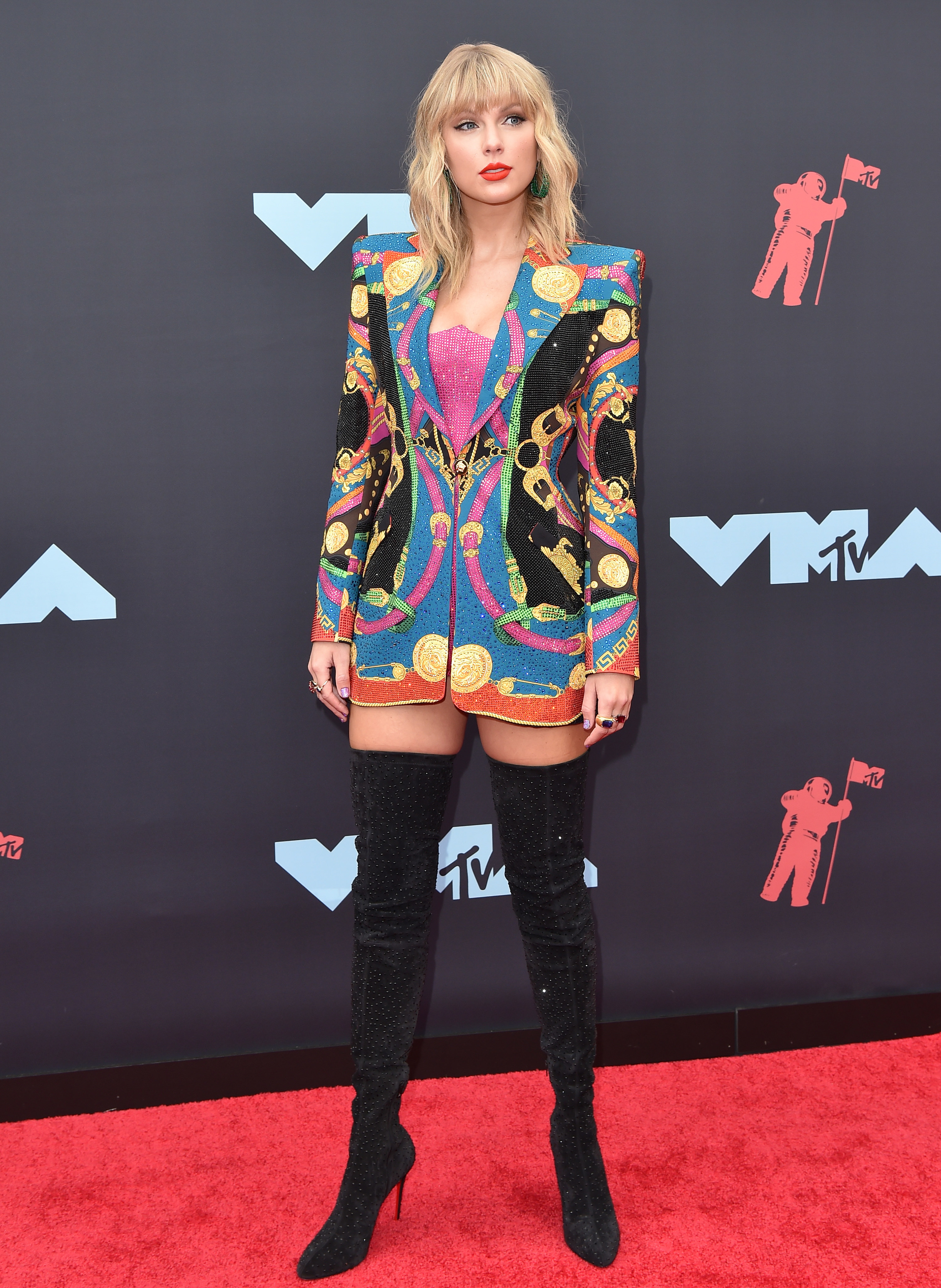 Taylor Swift at the Video Music Awards in 2019
