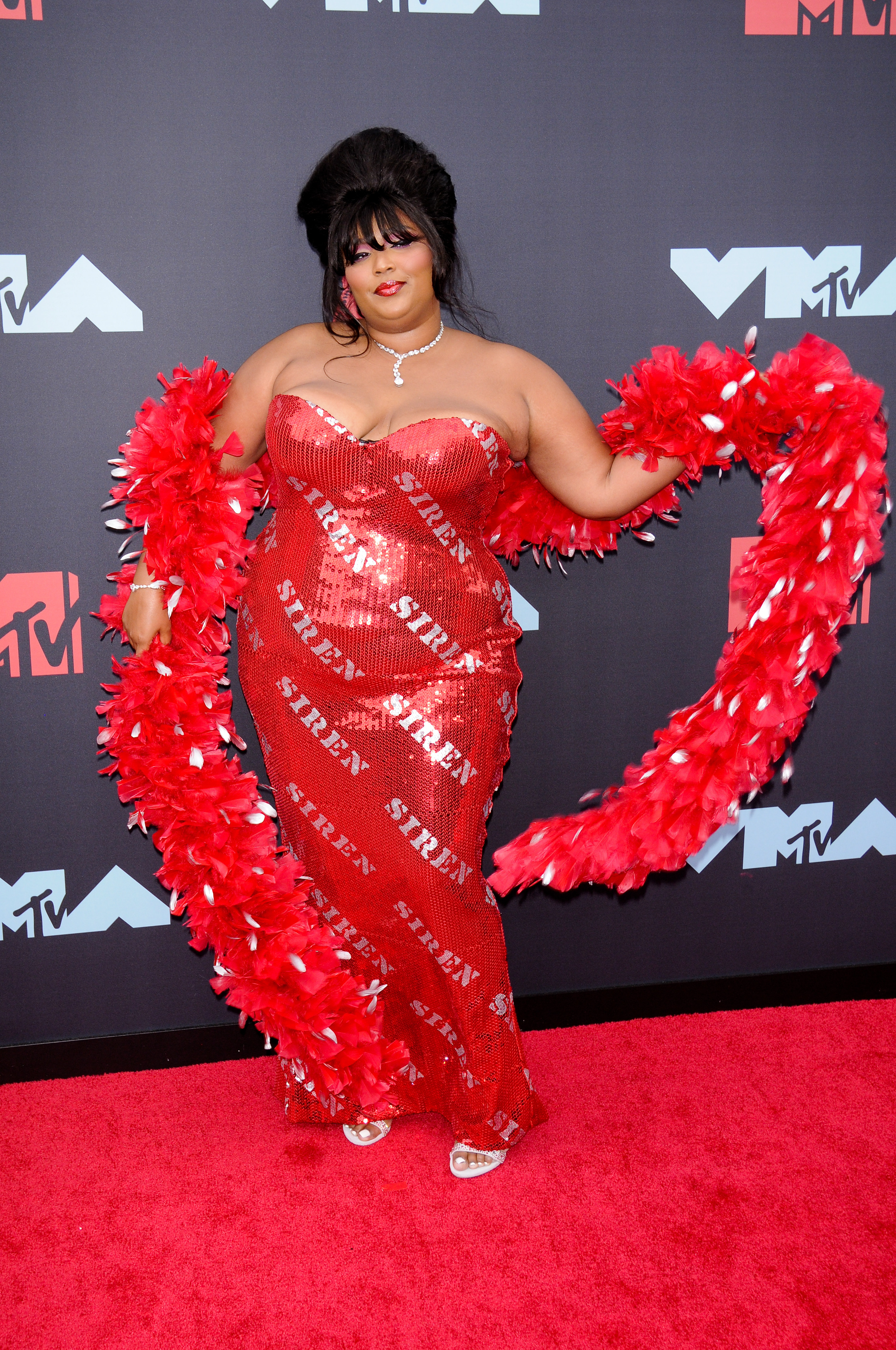 Lizzo at the Video Music Awards in 2019