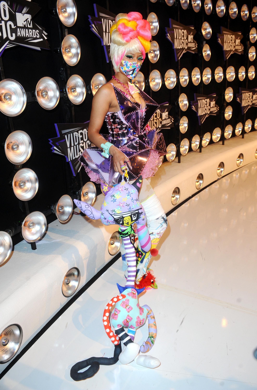 Nicki Minaj at the Video Music Awards in 2011