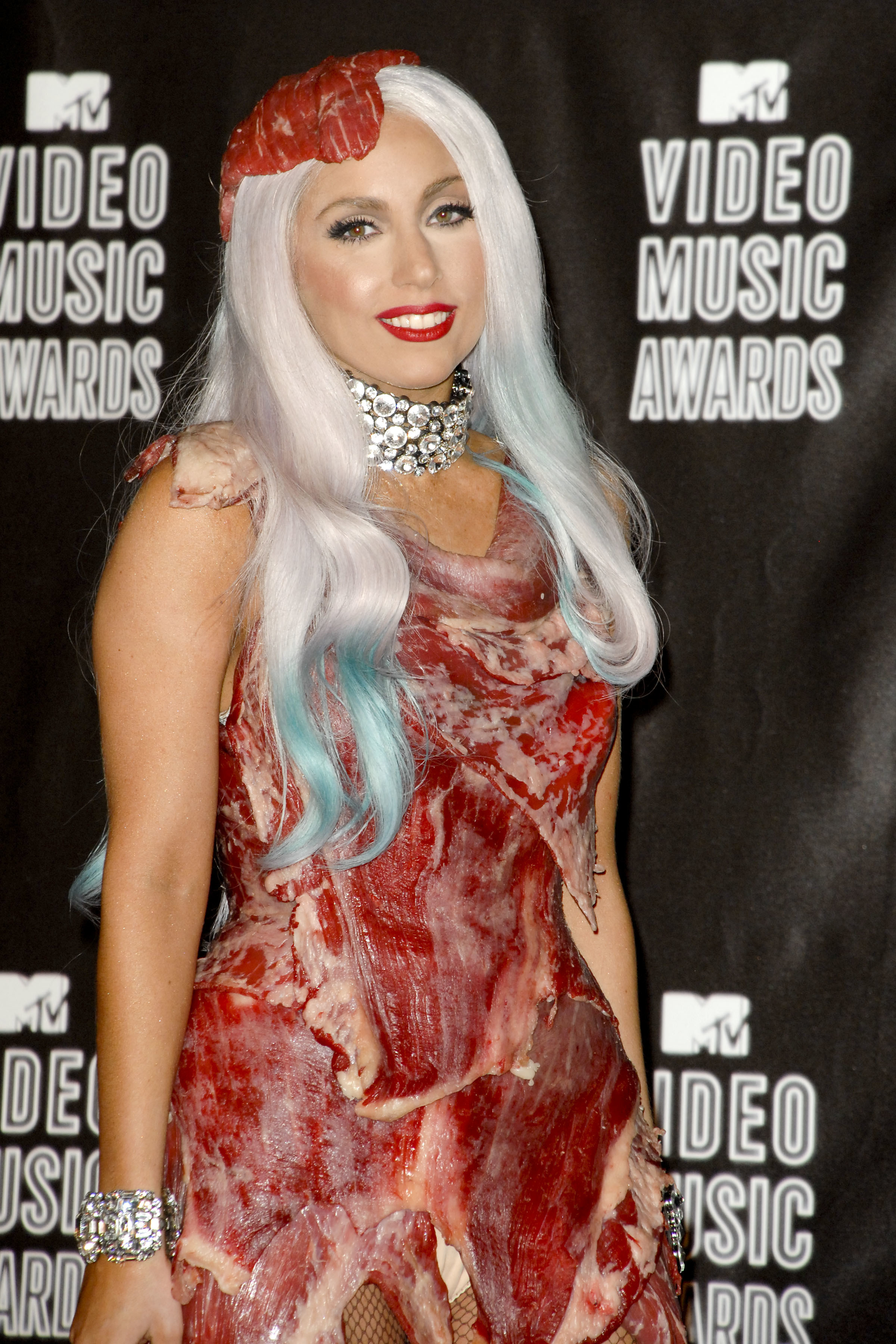 Lady Gaga at the Video Music Awards in 2010