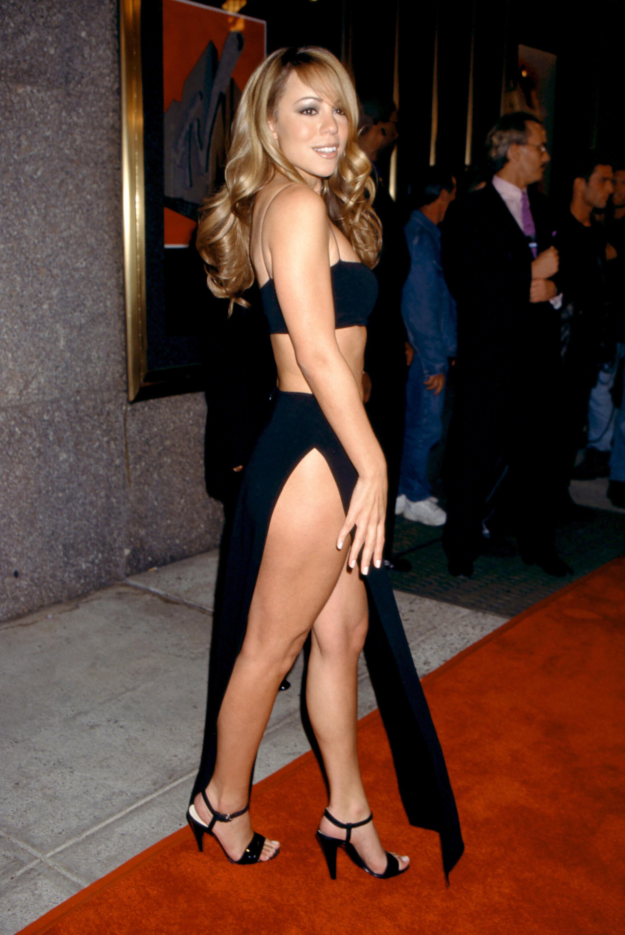 Mariah Carey at the 1997 Video Music Awards