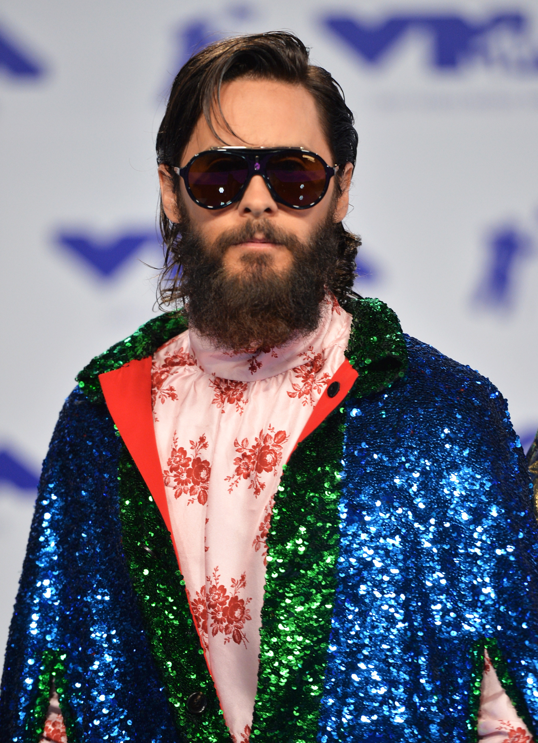 Jared Leto at the Video Music Awards in 2017