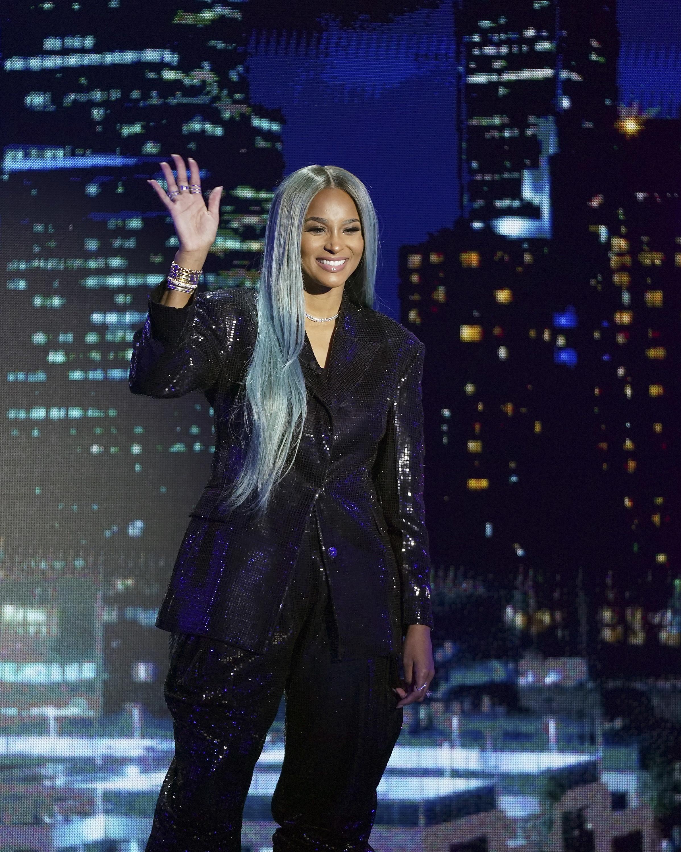 Ciara waving