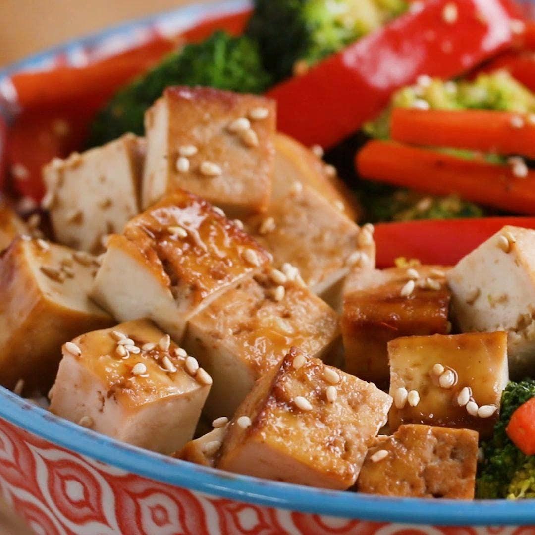 Sheet Pan Tofu 3 Ways