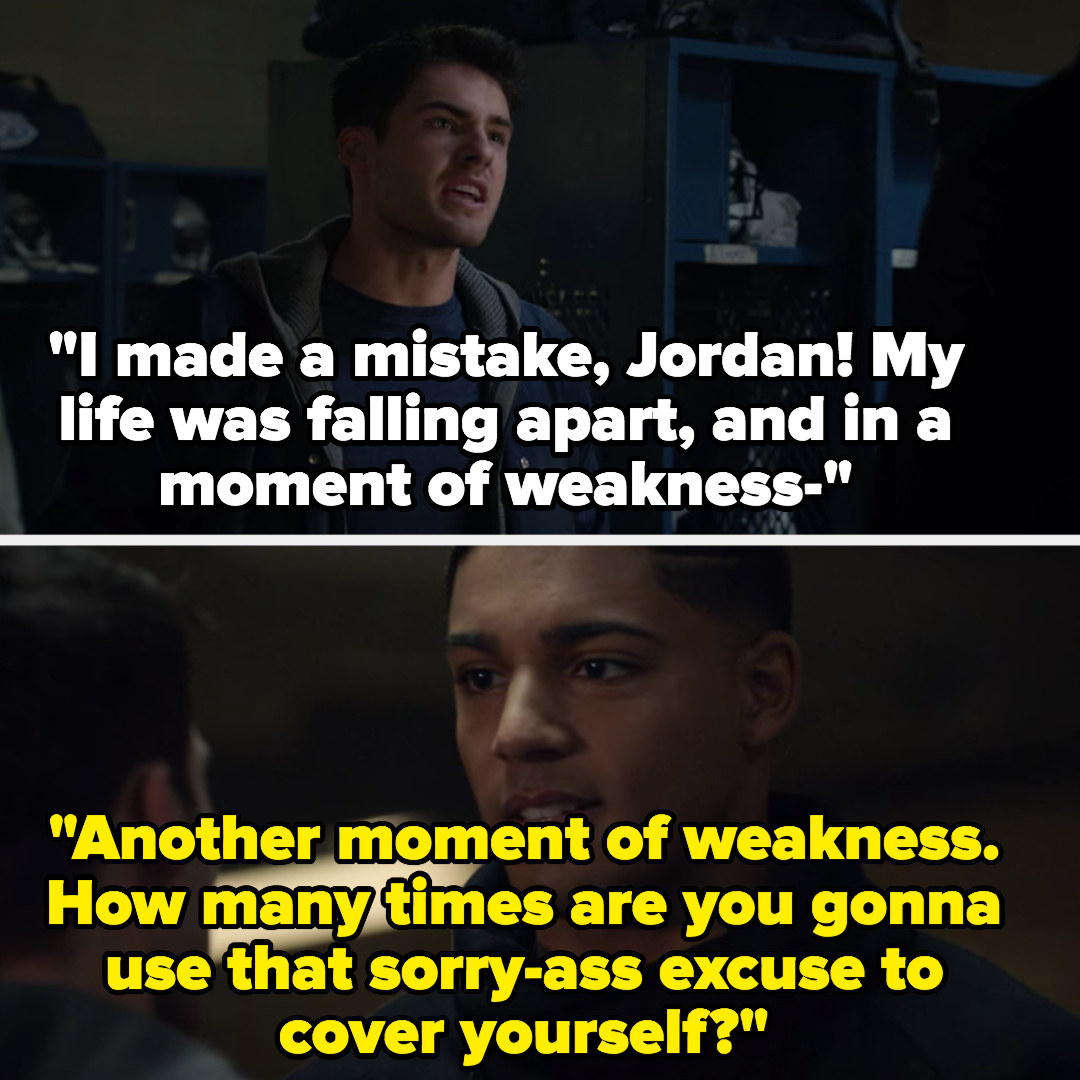 """Asher says he made a mistake in a moment of weakness, Jordan: """"How many times are you gonna sue that sorry-ass excuse?"""""""