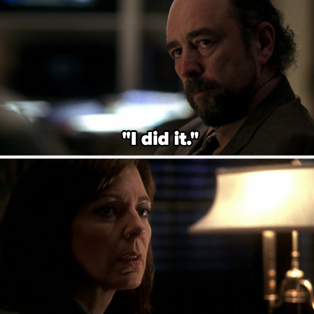Toby tells CJ he's behind the leak
