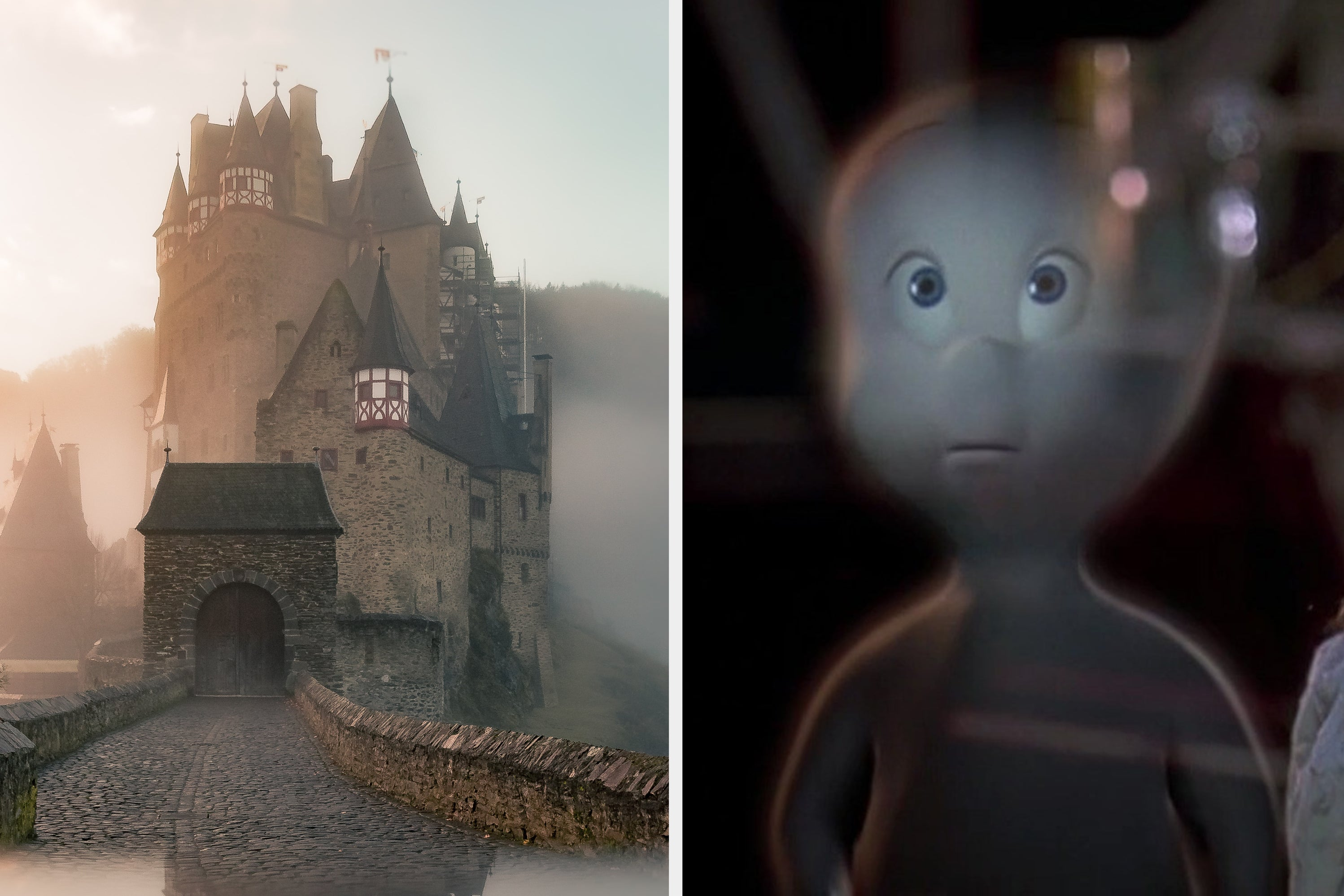 Move Into An Abandoned Castle, Like They Do In Horror Movies, And We'll Reveal The Ghost Who's Haunting It